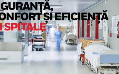 Siguranță, confort și eficiență în spitale cu tehnologiile Honeywell