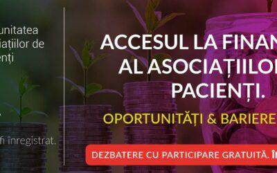 Întîlnirea Comunității Caspa.ro: astăzi discutăm despre accesul la finanțare al asociațiilor de pacienți
