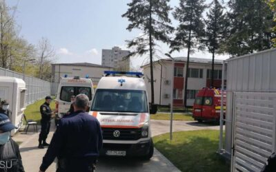 Incendiu la Incendiu la Secţia de Psihiatrie a Spitalului Judeţean Slatina