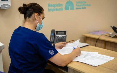 """Institutul de Pneumoftiziologie """"Marius Nasta"""" a lansat un call center pentru aparținătorii pacienților din secția ATI COVID"""