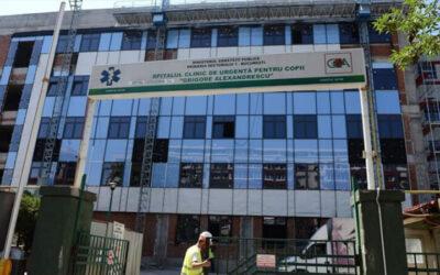 Aparatură de peste 150.000 de euro pentru Clinica de Ortopedie Pediatrică şi Secţia de ORL a Spitalului 'Grigore Alexandrescu'