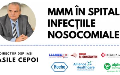 Comunitatea OSC – Spitale Publice: Strategia națională aplicabilă în cadrul unităților sanitare pentru declararea Infecțiilor Nosocomiale în Spitale (IAAM)