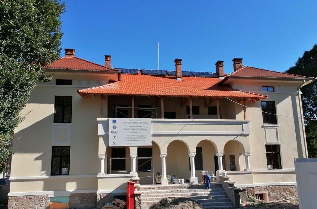 Lucrări de reabilitare cu finanțare europeană la Spitalul de Pneumoftiziologie Sibiu