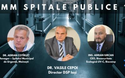 Biosecuritate ecologică integrată în unități medicale, tema de maxim interes a celei mai recente întâlniri a Comunității OSC – Spitale Publice
