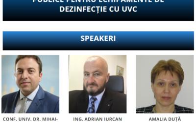 Comunitatea OSC – Achiziții în Spitale Publice: Noutăți și tehnici de achiziții publice pentru echipamente de dezinfecție cu UVC